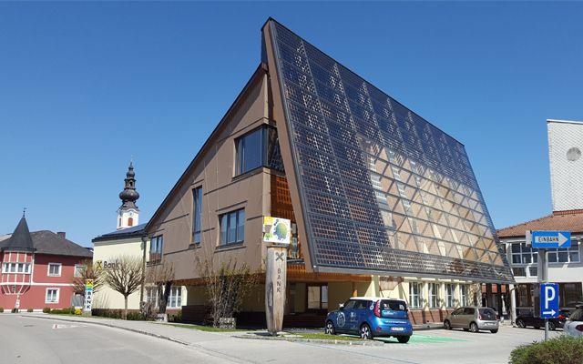 Raiffeisenbank Gunskirchen – Umweltcenter